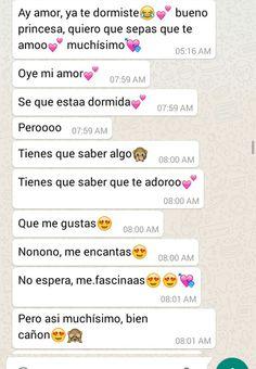 Mensajes🤩 Text Messages Love, Love Text, Sad Texts, Cute Texts, Cute Relationship Texts, Cute Relationships, Love Boyfriend, Funny Spanish Memes, Love Phrases