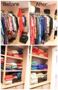 Pictures Of Organized Clothes Closets