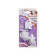Dreambaby Mag Lock Magnetic Lock Set, Multicolor