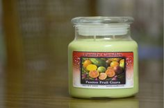 Family Candles: Passion Fruit Guava Scent