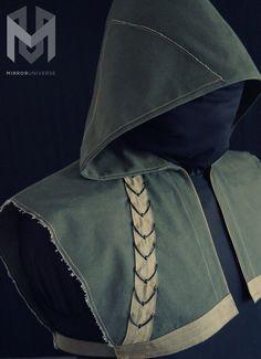Oliver Queen Arrow Hood Costume - Custom Made