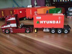 WSI Scania T5 VAEX mit Container-Trailer