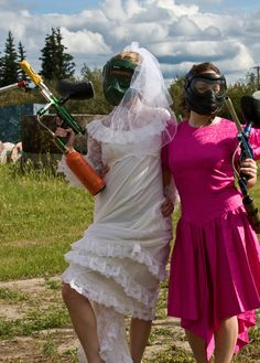 This may seem like a crazy bachelorette party, but it's certainly a day the girl's will never forget!