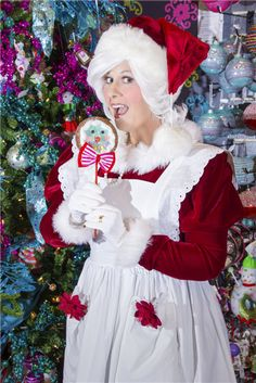 Professional Actress/Vocalist, Commercial and Print advertising, Voice-Over advertising, Stage/Film Acting Christmas Costumes, Christmas Treats, Mrs Claus Outfit, Santa Outfit, Santa Costume, Print Advertising, Christmas Fashion, Grandparents, Dallas