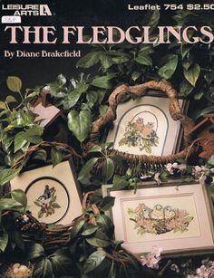 The Fledglings Baby Birds Cross Stitch book
