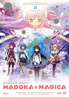 all the madoka dvds