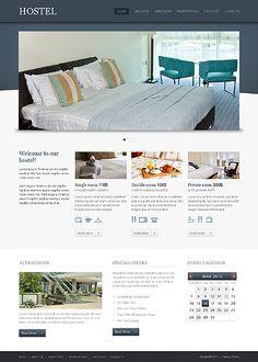Template 42987 - Hostel Hotel Website Template
