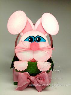 Sharon White's fabulous Easter Bunny Basket.