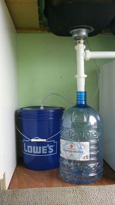 Simple Gravity Plumbing