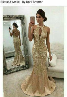 Baphonico #BlessedAtelie #dourado #pedrarias #vestidodefesta  #formatura #formanda #madrinha  #madrinhadecasamento