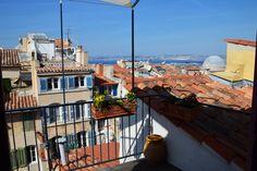 Marseille : Maison de ville avec terrasse