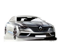 OFFICIAL: Renault Talisman sketches by Alexis Martot