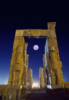 Persepolis (Iran).....hopefully,  one day,  we'll be able to see this before it is gone due to war.