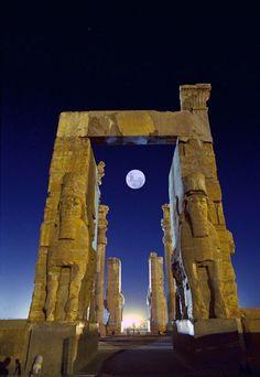 Ruins of Persepolis (Iran) - Persepolis was one of the capitals of ancient Persia.