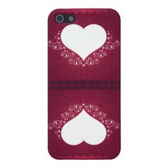 Reflected Hearts Design iPhone Casemate Case For iPhone 5