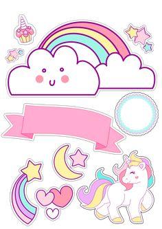 Unicorn Themed Birthday Party, Unicorn Party, Birthday Party Decorations, Unicornios Wallpaper, Unicorn Pictures, Diy Crafts To Do, Baby Unicorn, Lol Dolls, Birthday Pictures