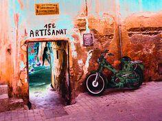 Photo prise à Marrakech