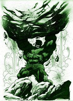 Hulk by Marcelo Mueller
