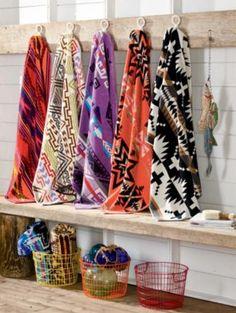 Pendleton Towels   SPIDER ROCK SPA TOWEL