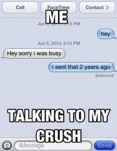 happened bled over crushs