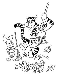 Free Printable Winnie The Pooh Coloring Pages For Kids | 1st ...