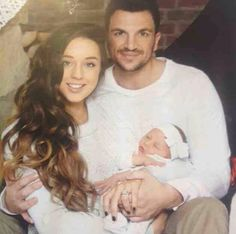 Peter Andre, Emily and their new baby Amelia Celebrity Dads, Celebrity Photos, Peter Andre, Perfect Couple, Celebs, Celebrities, Mommy And Me, A Good Man, New Baby Products