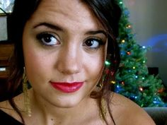Easy make up tutorial for red lips!