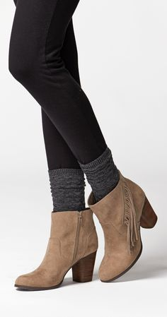 "We are in love with these boho-chic Madden Girl® ""Descent"" Casual Boots."