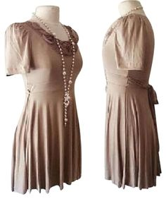 Forever 21 Brown 21 Cute Dress. Free shipping and guaranteed authenticity on…