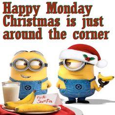 Happy Monday Christmas Minions: Chriristmas countdown...