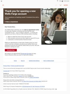 Wells fargo scamming. I not open any accounts recently online. Sod off people. Had I clicked on any of those links it would have taken me to a look-alike spam site.