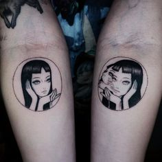 "Tattoos Ideas Inspired by Junji Ito's ""Tomie"" - Page 2 of 3 - Hey-Cinderella"