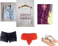 """""""summer"""" by sarahzimmerling ❤ liked on Polyvore"""