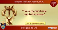 MISIONEROS DE LA PALABRA DIVINA: EVANGELIO - SAN MATEO    5,20-26