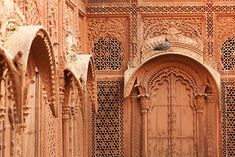 Jali Work, Mehrangarh Fort, Jodhpur, Rajasthan, India unit with mandir Grey Colour Chart, Gray Color, Jaisalmer, Main Door, Rajasthan India, Jodhpur, Tv Unit, Barcelona Cathedral, Travel Guide
