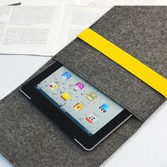 iPad Mini Sleeve with Elastic Strip