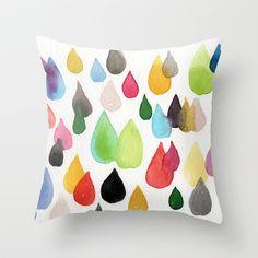 Tears Of An Artist Throw Pillow by Linda Woods - $20.00