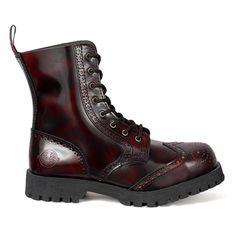 NEVERMIND Wingtip Boots @ SinisterSoles.com