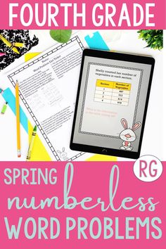Take the stress out of how to solve word problems with these easy-to-use strategies! These numberless multiplication & division word problems teach students how to solve 1-step and 2-step multiplication & division story problems! With these strategies, students will really THINK about what is happening in the problem. Find a link to helpful math activities! Use for distance learning, math intervention, 4th grade math morning work & math centers! #growwithgriffith #wordproblems #numberless Math Intervention, 5th Grade Math, 2 Step, Morning Work, Elementary Math, Word Problems, Multiplication, Classroom Activities, Math Centers