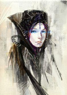 Bene Gesserit girl by Artofinca - Tsabo6.deviantart.com on @deviantART
