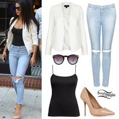 Selena Gomez leaving a bar in Brooklyn, New York, July 2014 - photo: gomezgallery 4 3 Selena Gomez Fashion, Selena Gomez Outfits, Selena Gomez Style, All About Fashion, Love Fashion, Autumn Fashion, Curvy Fashion, Casual Outfits, Cute Outfits