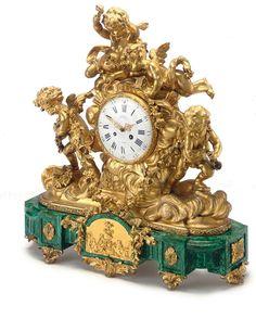 Royale Galleries Inc. Antique Mantel Clocks, Antique Desk, Mantle Clock, Unusual Clocks, Cool Clocks, French Clock, Classic Clocks, Pocket Watch Antique, Bronze