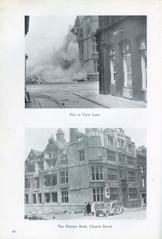 Sheffield Blitz - Story And Pictures Sheffield City, Local History, Coventry, Old Things, War, Memories, Pictures, Memoirs, Photos