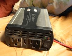 Cheap RV Living.com - - Baby Steps: How to Have Electricity in Your Car or Van For Very Little Money