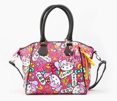 It's arrived: the Hello Kitty Japanimation handbag!