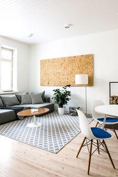 Decoración de departamentos minimalistas: 2 ambientes con mucho estilo 1 Deco Wc Original, Diy Wall Art, Wall Decor, Modern Vintage Bathroom, Room Deco, Ikea, Diy Pillows, Home Decor Inspiration, Decor Ideas
