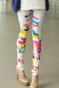 Color Block Leggings, $12.00