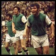 Mijn 3 helden van het grote Feyenoord uit de jaren 70. ( Willem de kromme, Theo de tank en ijzere Rinus )