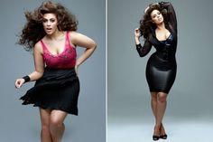 Top European Model Size 18 you go girl!