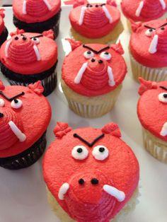 Yep! Gluten free! Go, Hogs Go! Cake by Dempsey Bakery in Little Rock, AR.